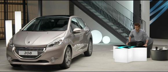 Film pour la Peugeot 208 a