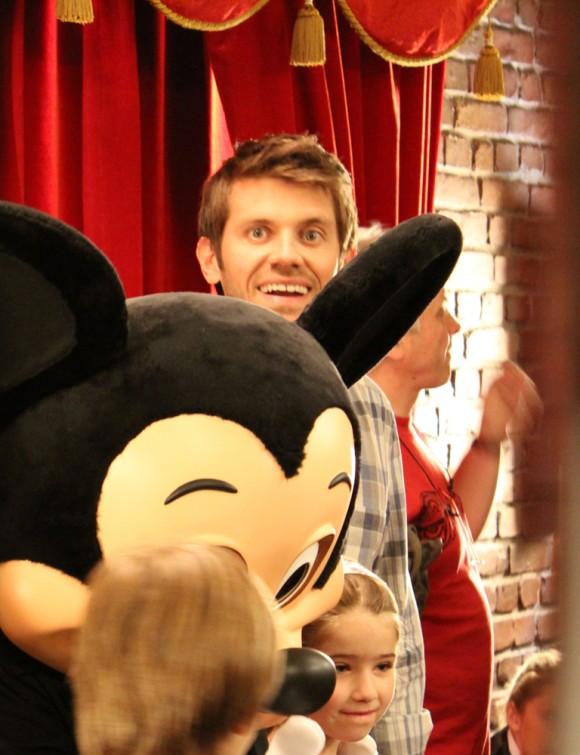 """Tournage film pour Disneyland """"Meet to Mickey"""" 03"""